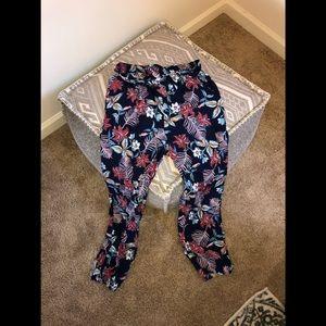 Loose Fit High Waisted Boho Pants